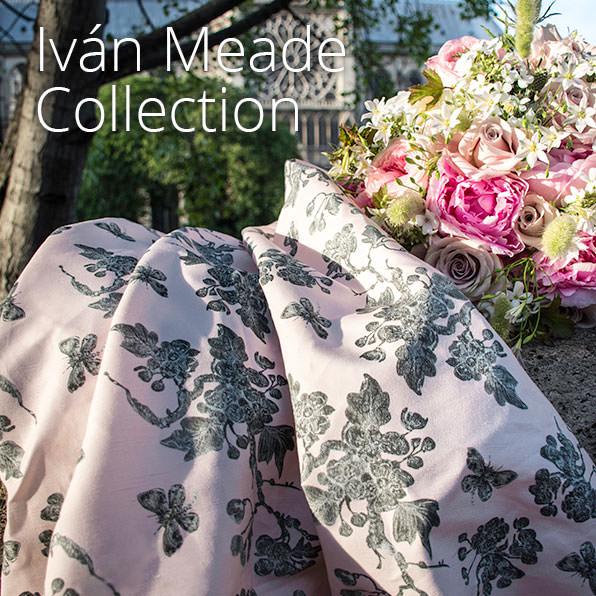 Iván Meade fabric line