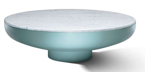 SwitzerCultCreative - Tambor Coffee Table Chic Green