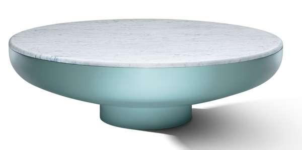 SwitzerCultCreative - Tambor Coffee Table Chic Green
