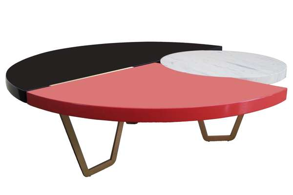 Hagit Pincovicci Marble Coffee Table